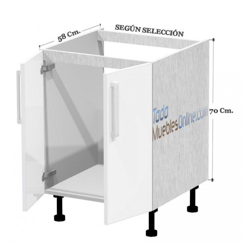 Muebles de cocina para fregadero for Muebles de chapa