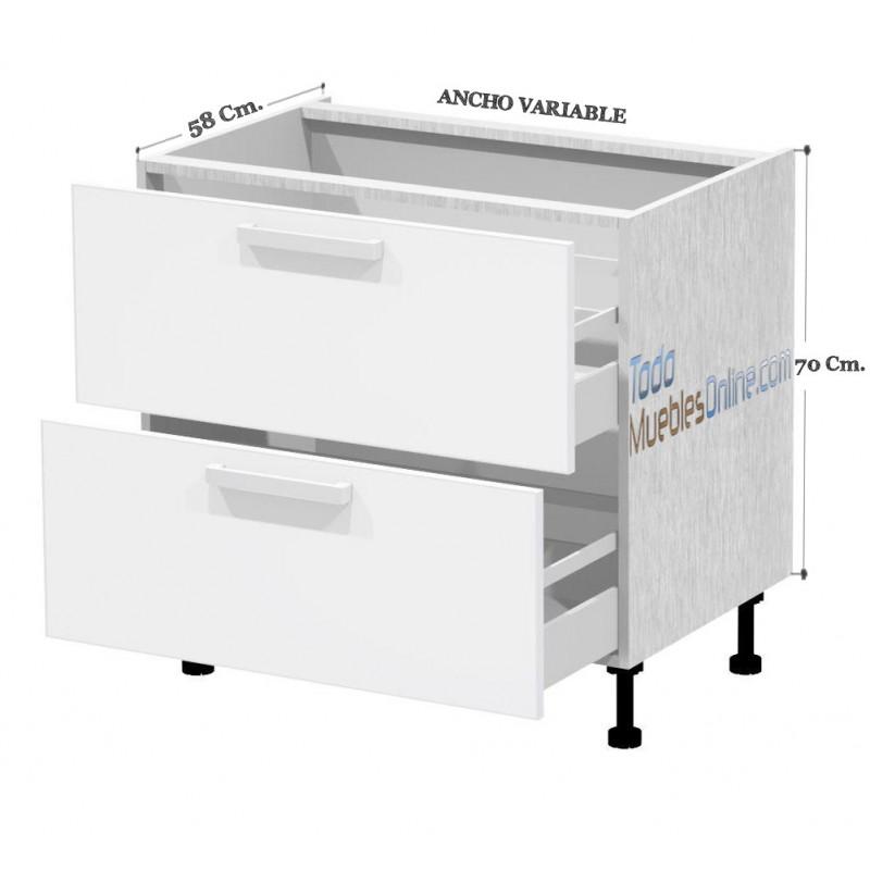 Muebles de cocina para fregadero for Modulos bajos de cocina