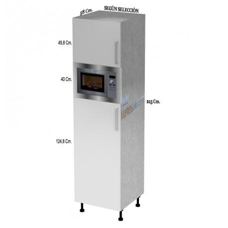 Muebles de cocina para horno microondas for Ver cocinas montadas