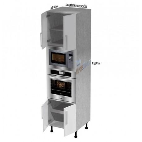 Muebles de cocina para horno microondas for Muebles para horno de microondas