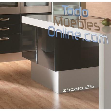 Z calos para muebles de cocina - Zocalos de aluminio para cocinas ...