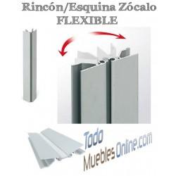 Rincón / Esquina Zócalo Aluminio 14,5 cm. de Altura