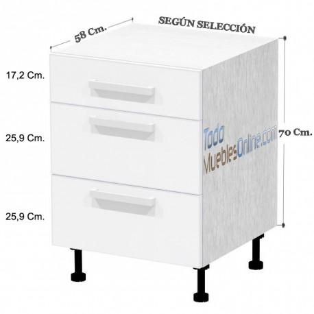 Muebles De Cocina Con Cajones Y Caceroleros