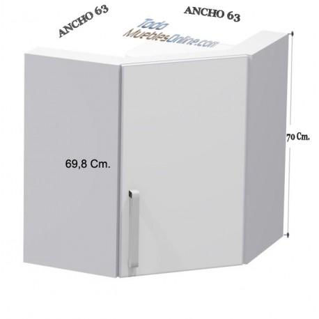 Rinconera Alta para calentador Complet de 1 Puerta
