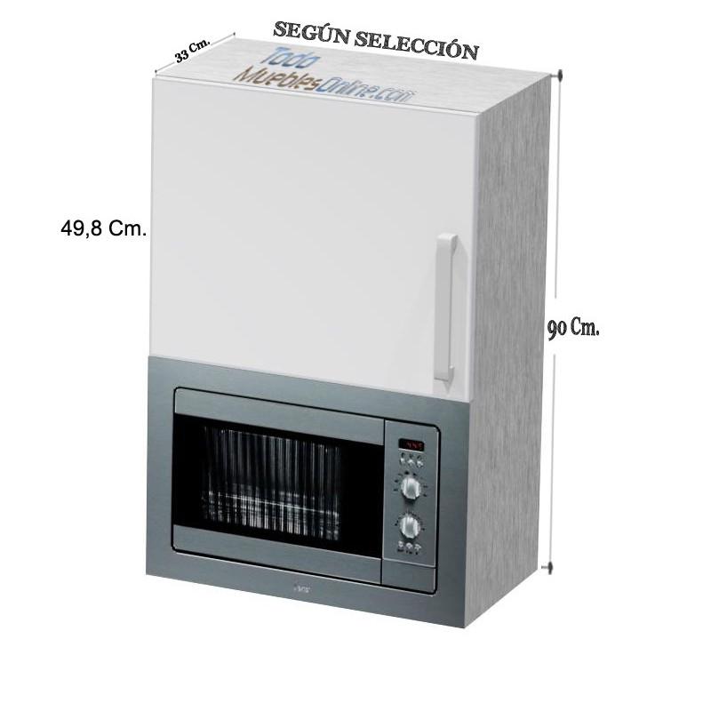 Muebles de cocina para microondas - Mueble alto microondas ...