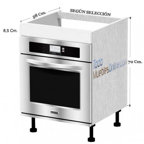 Muebles de cocina para horno - Ver cocinas montadas ...