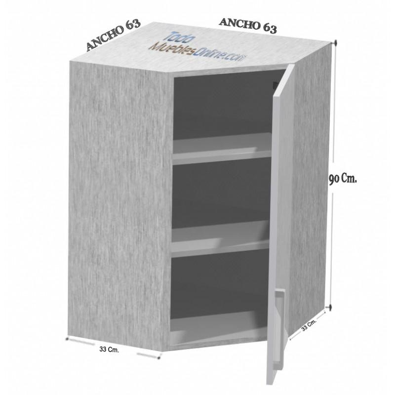 Medidas de muebles de cocina de rincon - Modulos de muebles de cocina ...