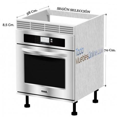 Muebles de cocina para horno Mueble para horno
