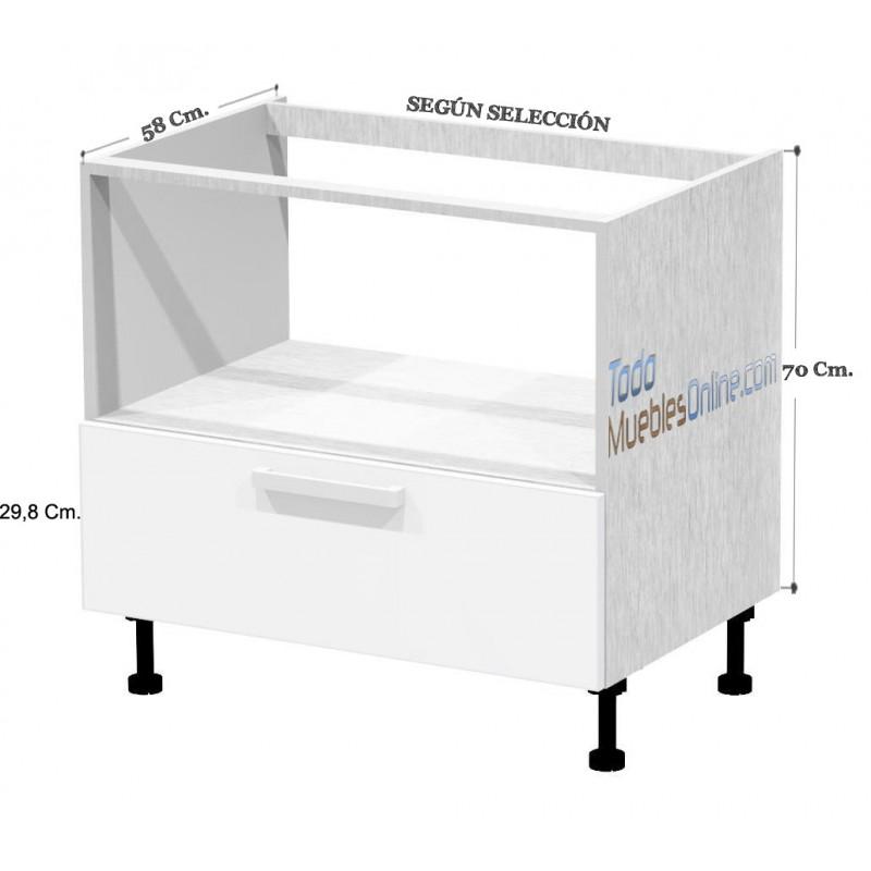 Muebles de cocina para horno for Altura muebles de cocina