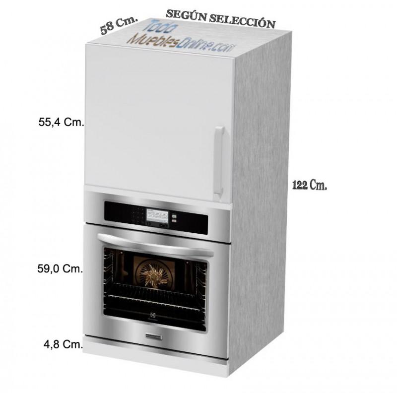 Muebles de cocina para horno microondas for Hornos para cocina